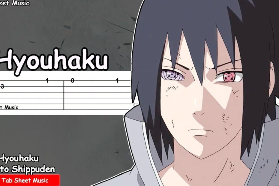 Naruto Shippuden OST - Hyouhaku (Sasuke Theme) Guitar Tutorial