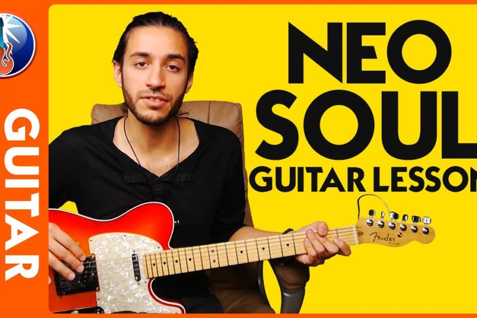Neo Soul Guitar Lesson - Combining Chords with Legato Leads