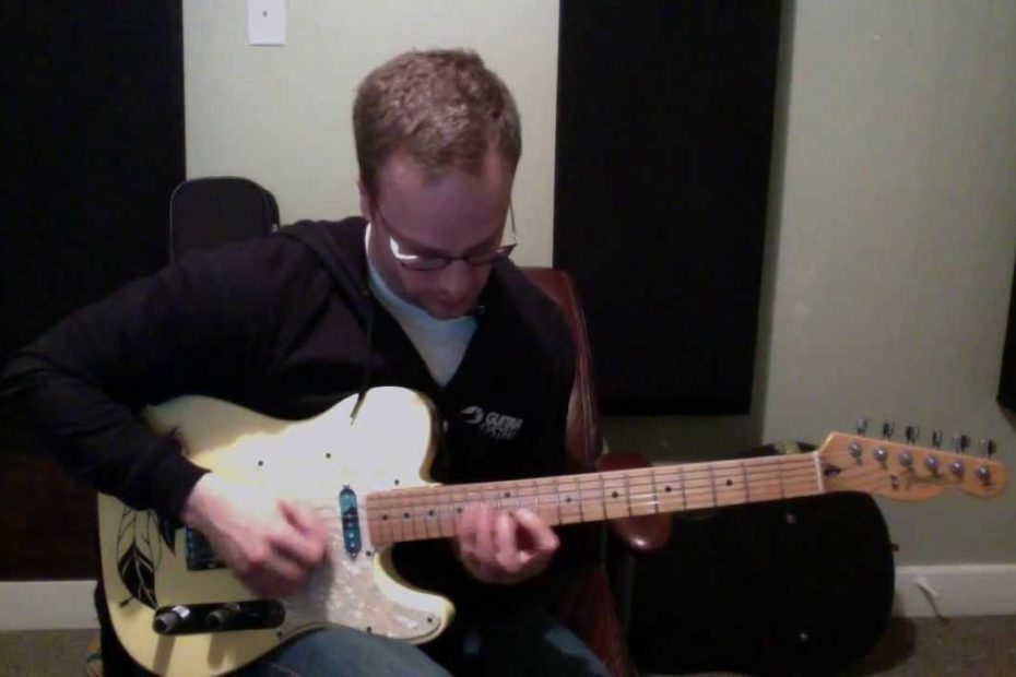 """""""Nightmares"""" Guitar Solo From Maximum Meytal Pack - Nate Savage"""
