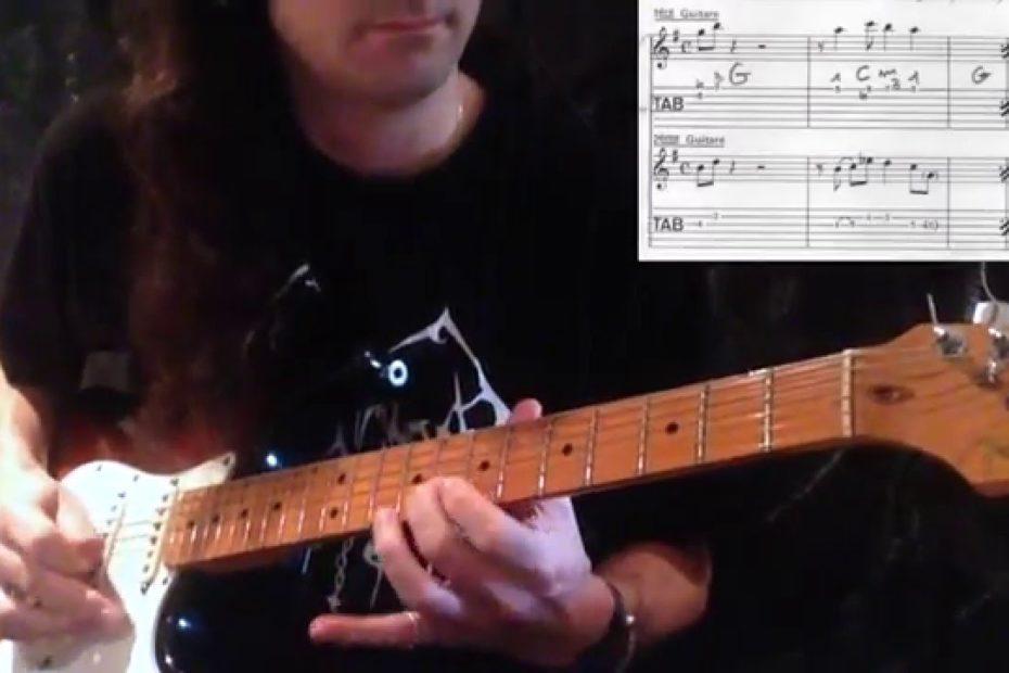 Nivram - The Shadows (guitar cover + tab)