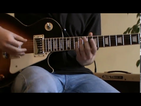 No Woman No Cry solo cover with TAB (guitar solo lesson)