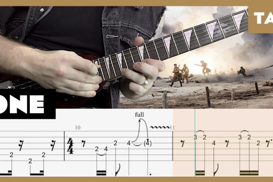 One Metallica Cover | Guitar Tab | Lesson | Tutorial
