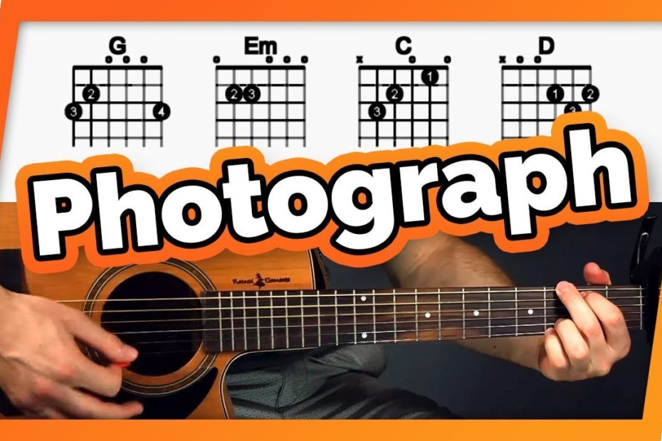 Photograph Guitar Tutorial (Ed Sheeran) Easy Chords Guitar Lesson