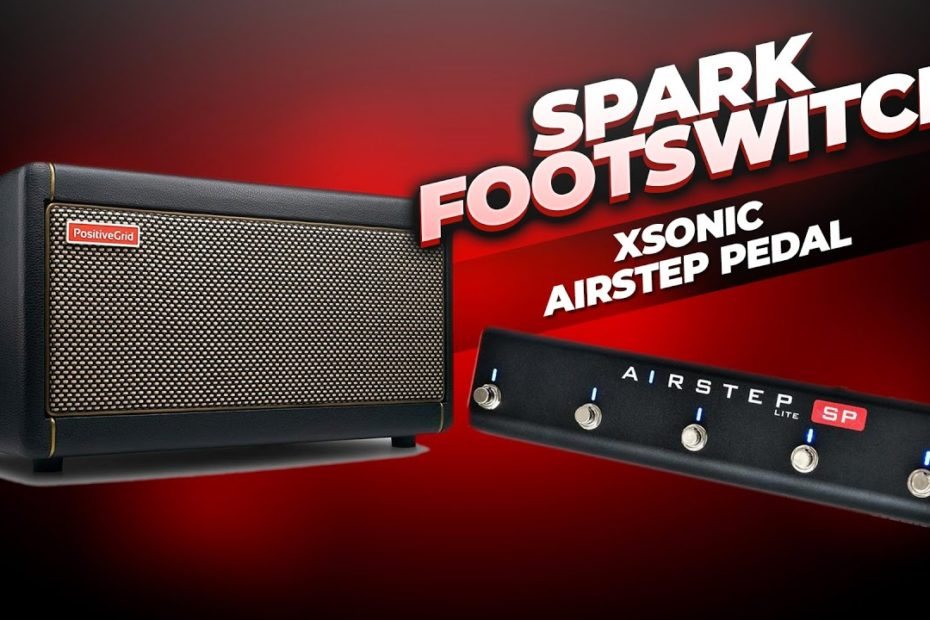 Positive Grid Spark Footswitch - Hands Free Tone Control!