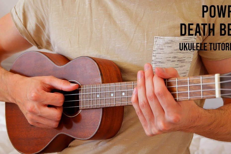 Powfu – death bed EASY Ukulele Tutorial With Chords / Lyrics