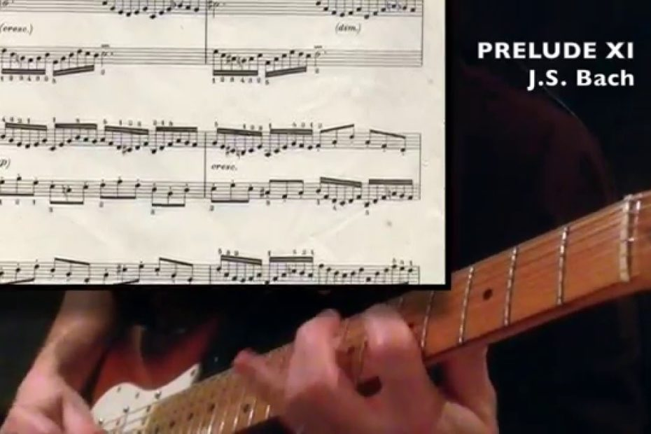 Prelude XI - J.S. Bach (Guitar Cover + part)