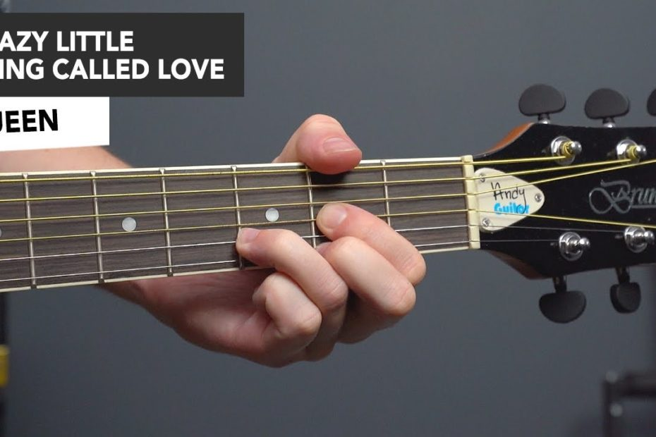 Queen - Crazy Little Thing Called Love - Guitar Lesson Tutorial - How to Play Easy Guitar Songs