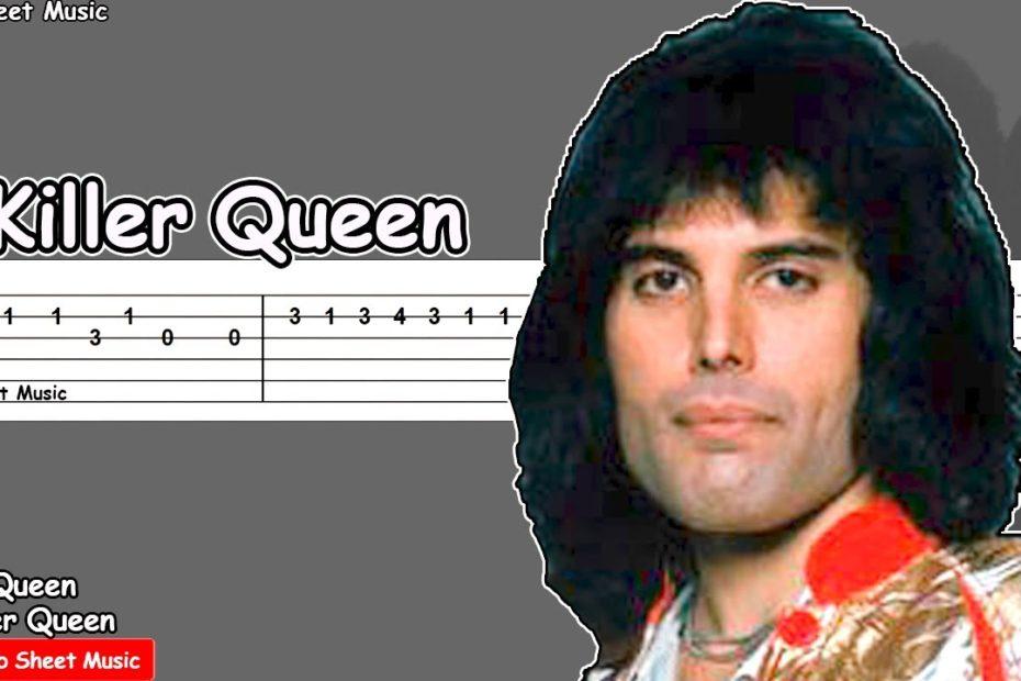 Queen - Killer Queen Guitar Tutorial