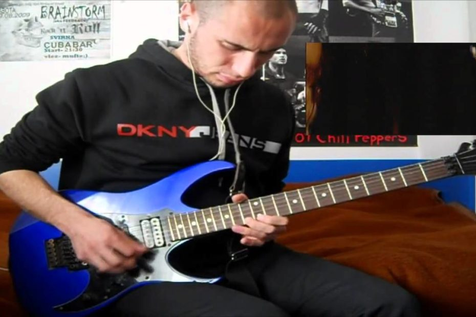 RHCP - Californication live at Slane Castle (intro & solo cover)