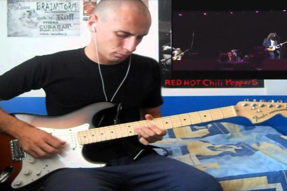 RHCP - Californication Solo Fuji Rock 2006 (Cover)
