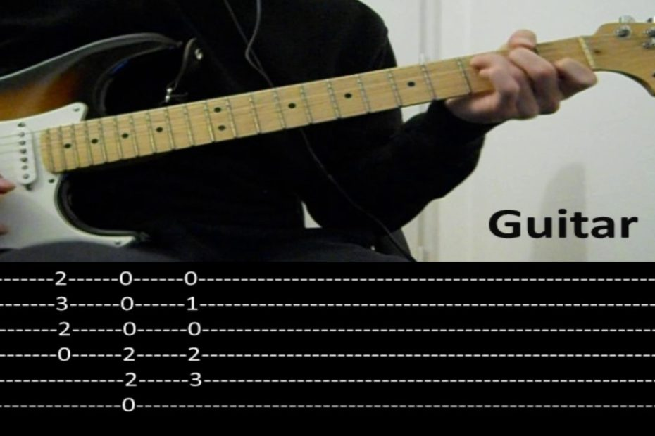 RHCP - Dosed (Guitar lesson with TAB)