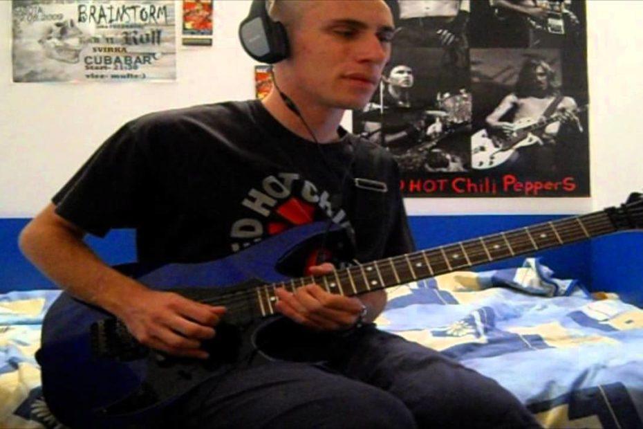RHCP - Live At Slane Castle - Intro (cover)