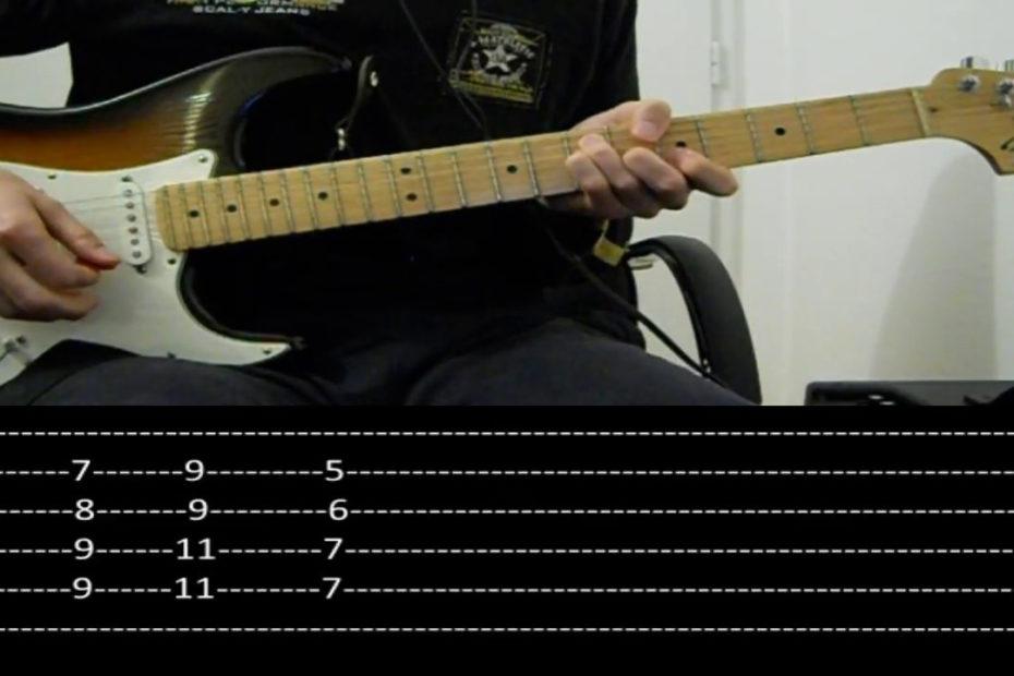 RHCP - Under the bridge (Guitar lesson with TAB)