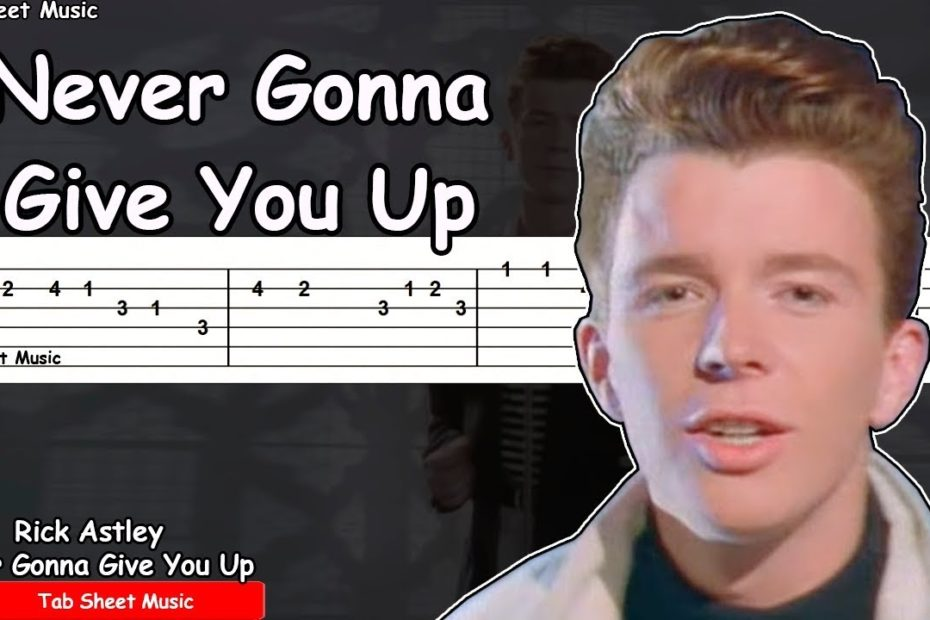 Rick Astley - Never Gonna Give You Up Guitar Tutorial