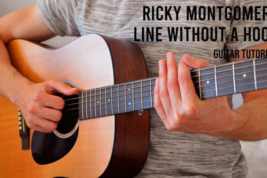 Ricky Montgomery – Line Without a Hook EASY Guitar Tutorial With Chords / Lyrics