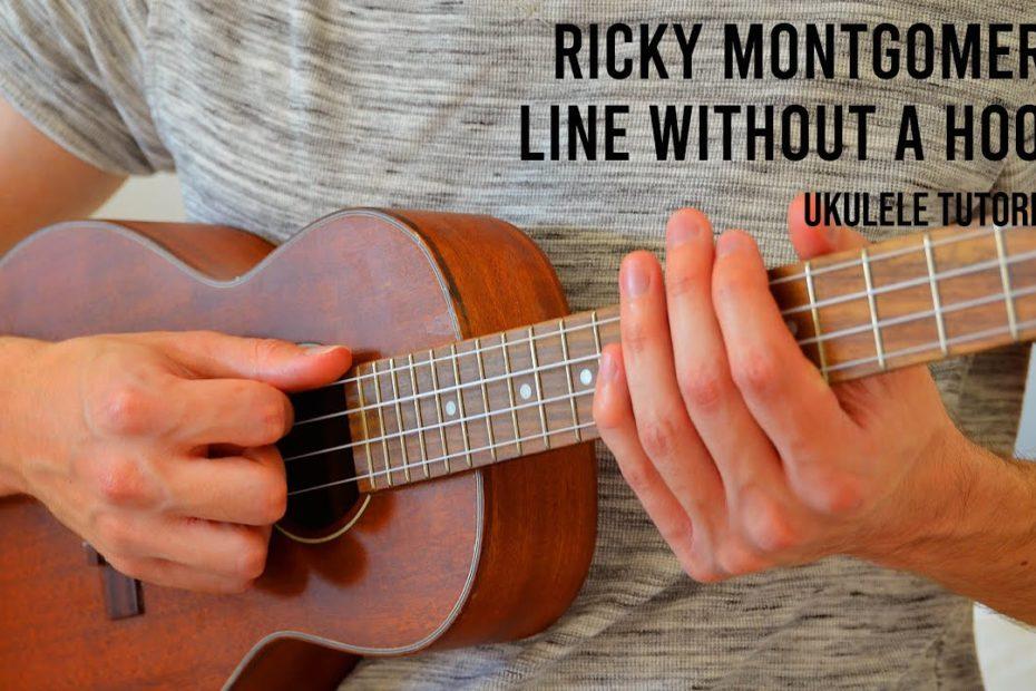 Ricky Montgomery – Line Without a Hook EASY Ukulele Tutorial With Chords / Lyrics