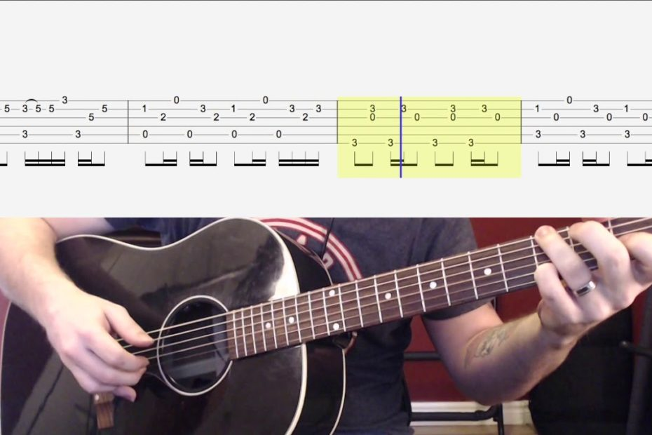 Riptide Fingerstyle (Short Recital Piece) Watch and Learn Guitar Lesson