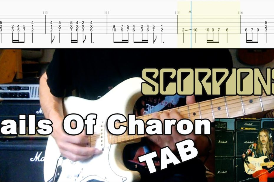 Sails Of Charon - Scorpions (Cover & TAB)