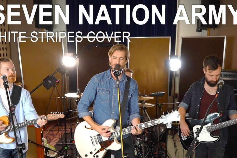 'SEVEN NATION ARMY' - White Stripes COVER by Andy Guitar Band