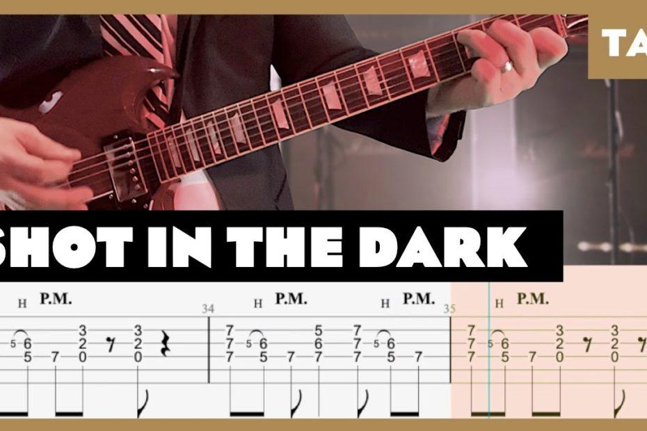Shot in the Dark AC/DC Cover | Guitar Tab | Lesson | Tutorial