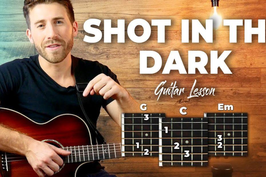 Shot In The Dark Guitar Tutorial - John Mayer Guitar Lesson (EASY CHORDS + SOLO)