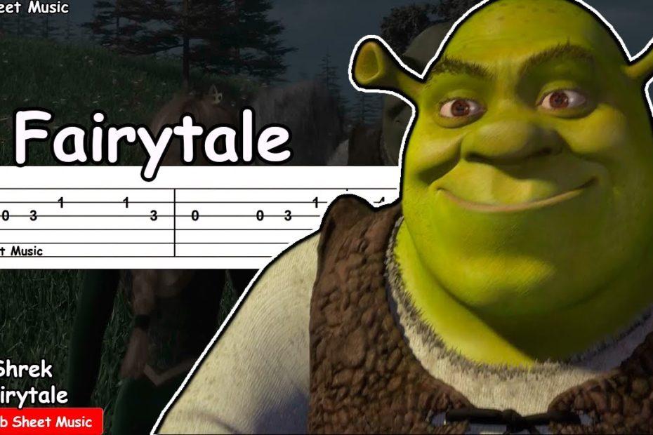 Shrek - Fairytale Guitar Tutorial