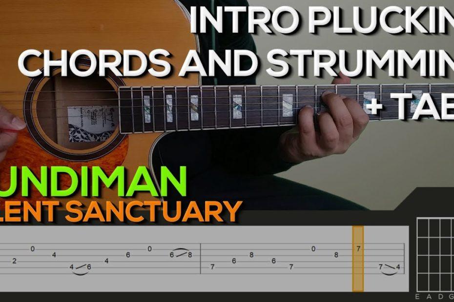 Silent Sanctuary - Kundiman Guitar Tutorial  [INTRO, CHORDS AND STRUMMING + TABS]