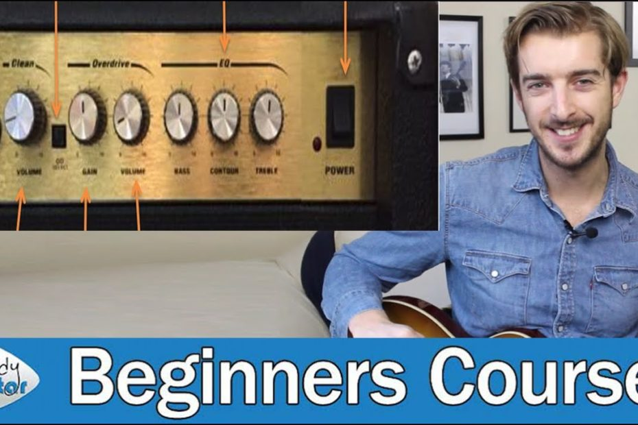 Simple Guide to Guitar Amp Controls & Settings (Guitar Basics - Lesson 2)