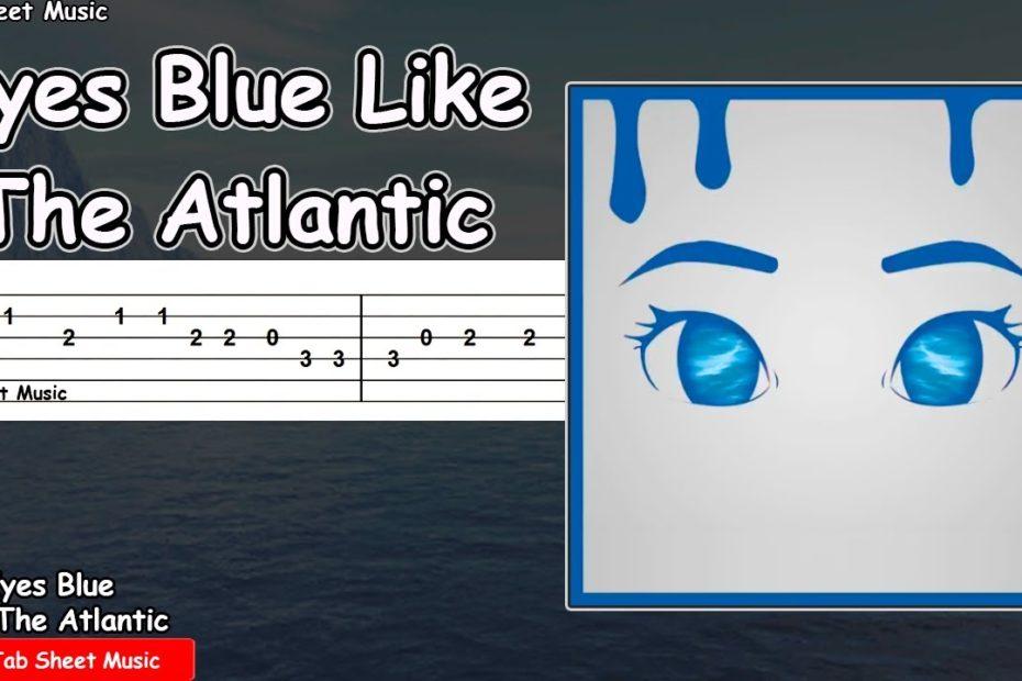 Sista Prod - Eyes Blue Like The Atlantic Guitar Tutorial