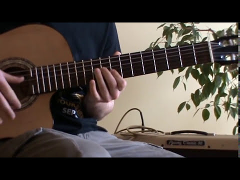 Somewhere Over The Rainbow guitar lesson with TAB - ukulele chords on guitar