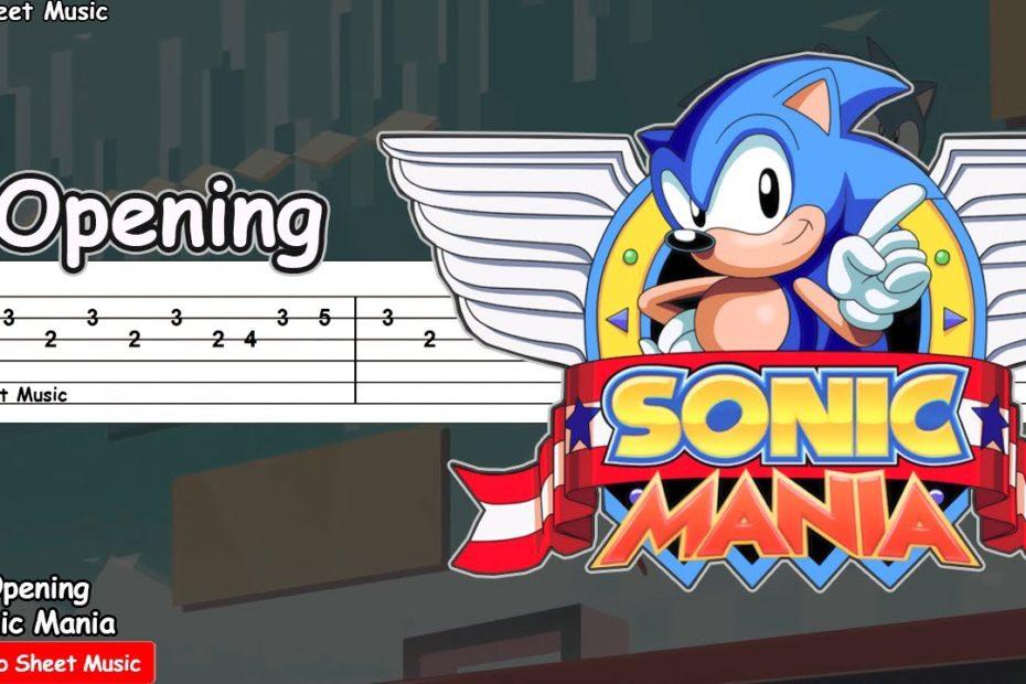 Sonic Mania Opening Theme - Guitar Tutorial