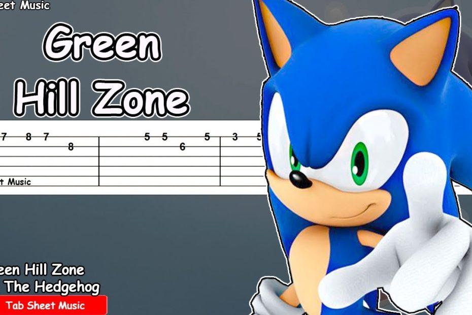 Sonic The Hedgehog - Green Hill Zone Guitar Tutorial