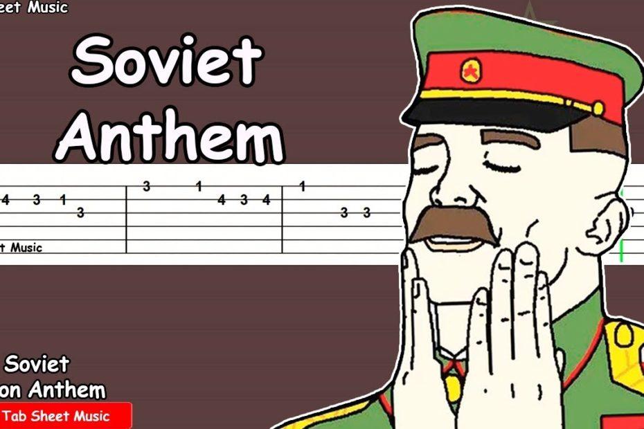 Soviet Union Anthem - Guitar Tutorial (In SOVIET RUSSIA)