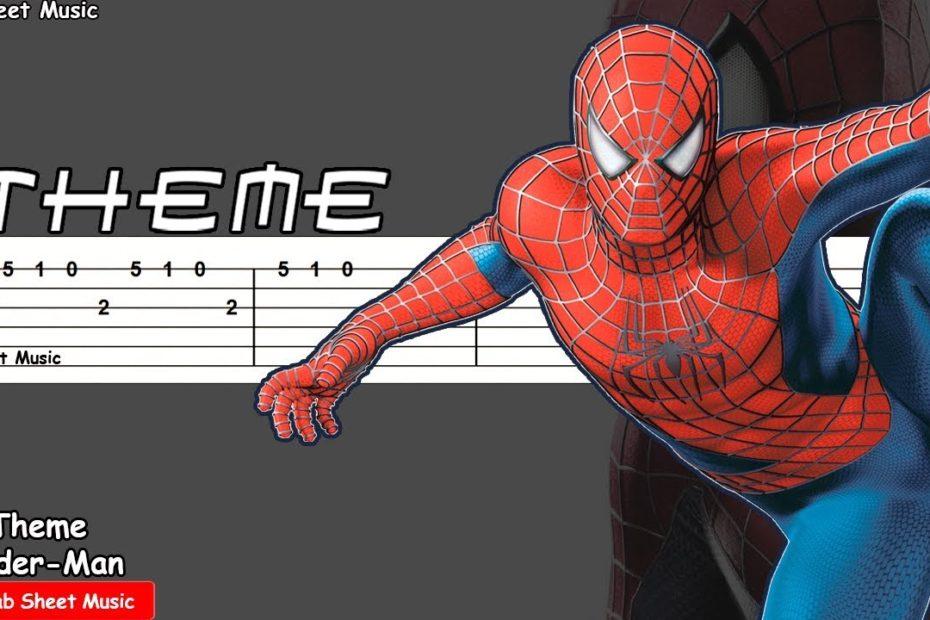 Spider-Man (2002) - Theme Guitar Tutorial