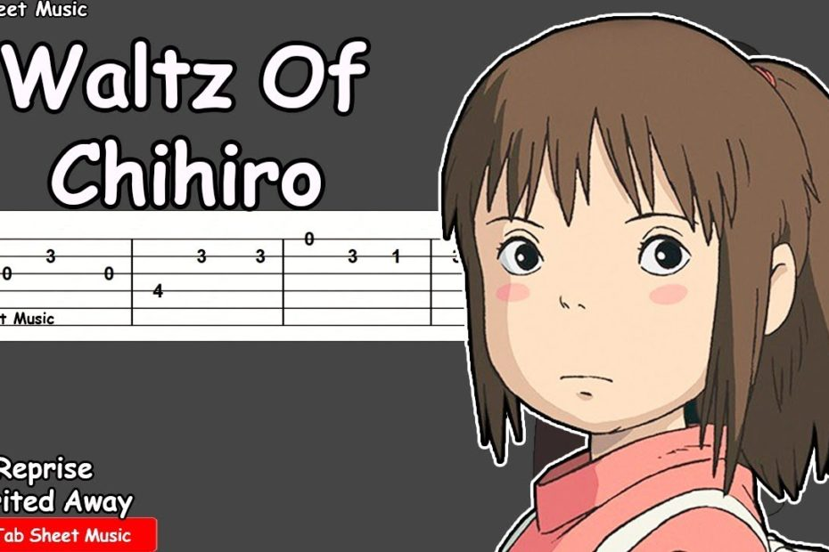 Spirited Away - Reprise & Waltz Of Chihiro Guitar Tutorial