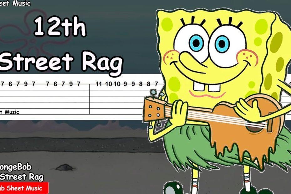 SpongeBob - 12th Street Rag Guitar Tutorial