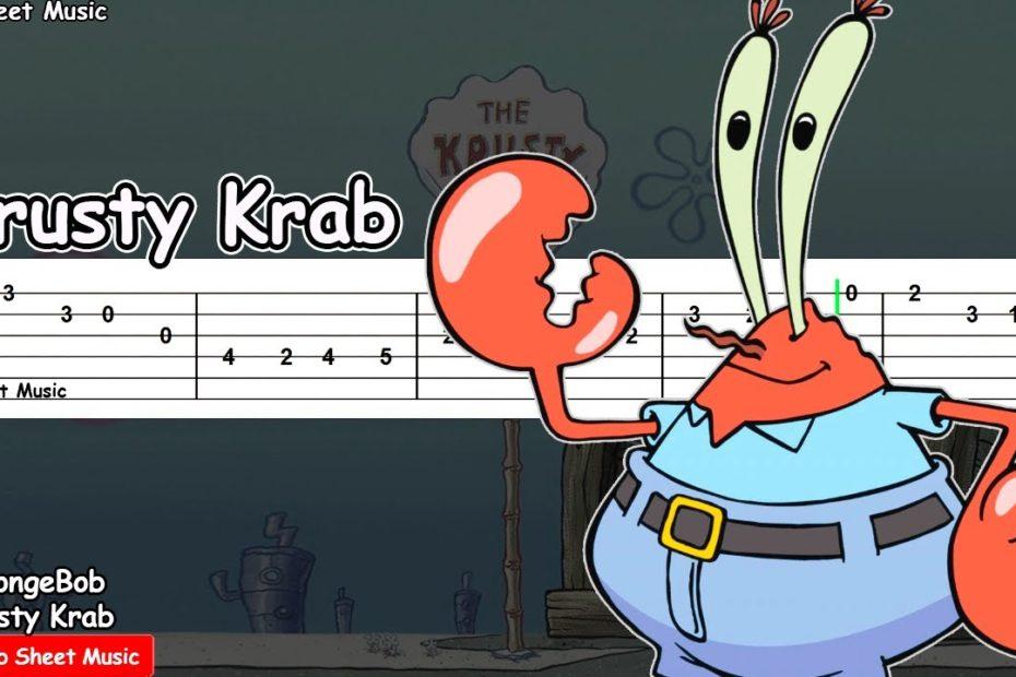 SpongeBob - Krusty Krab Theme Guitar Tutorial