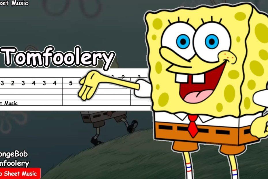 SpongeBob SquarePants - Tomfoolery Guitar Tutorial