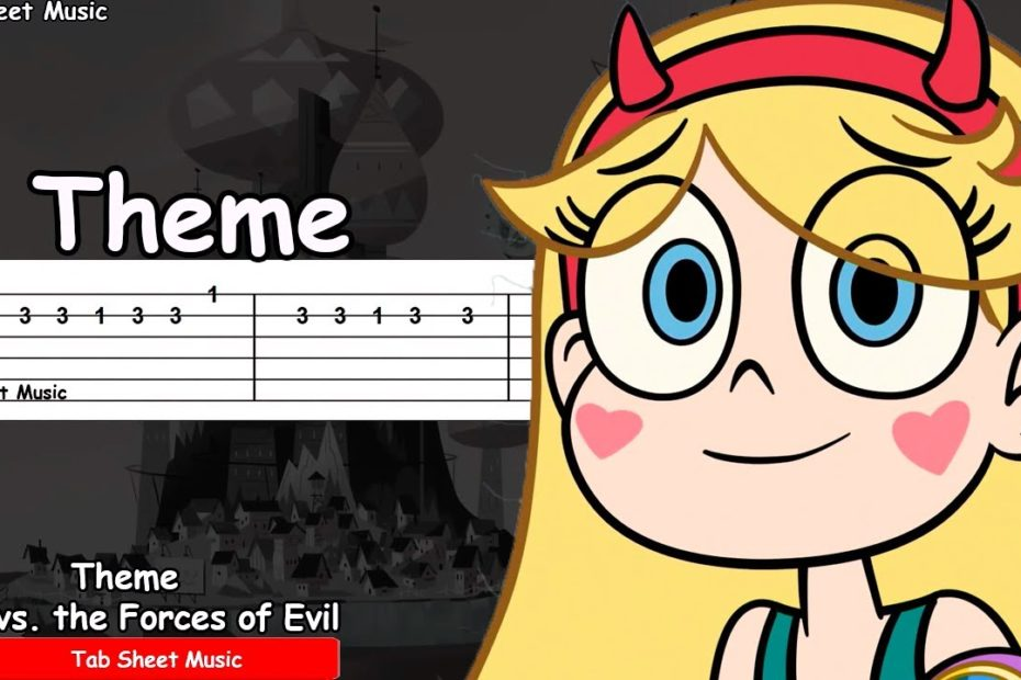 Star vs. the Forces of Evil - Theme Guitar Tutorial
