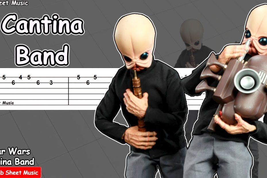 Star Wars - Cantina Band Guitar Tutorial