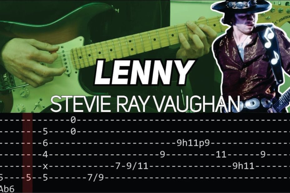 Stevie Ray Vaughan - Lenny intro (Guitar lesson with TAB)