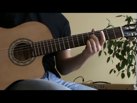 Sting - Fragile acoustic guitar cover with TAB - acoustic guitar lesson