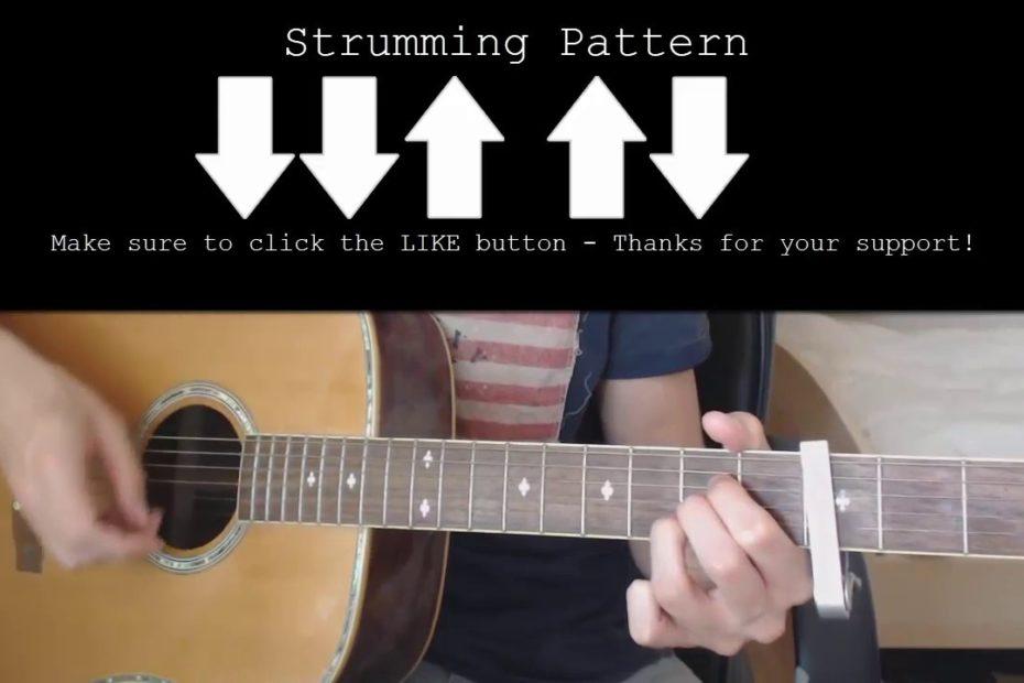 Stranger Things Season 3 - The NeverEnding Story EASY Guitar Tutorial With Chords / Lyrics