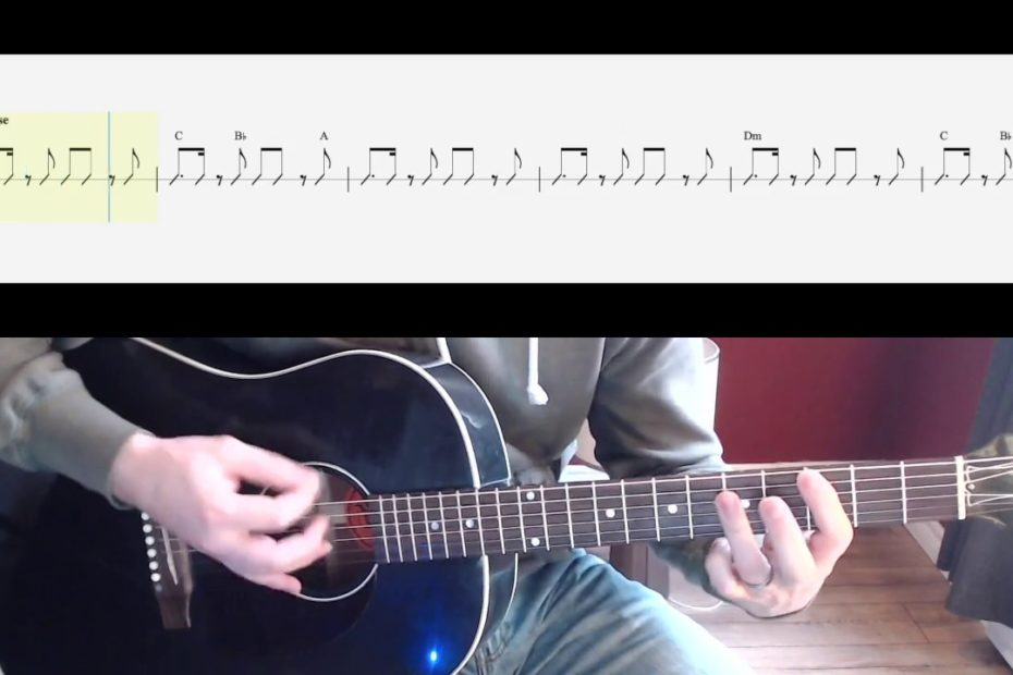 Sultans of Swing Guitar Play Along (Barre Chords and Rhythm only) Watch and Learn Guitar Lesson