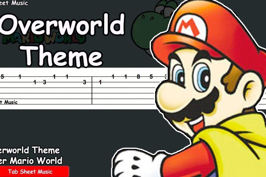 Super Mario World - Overworld Theme Guitar Tutorial