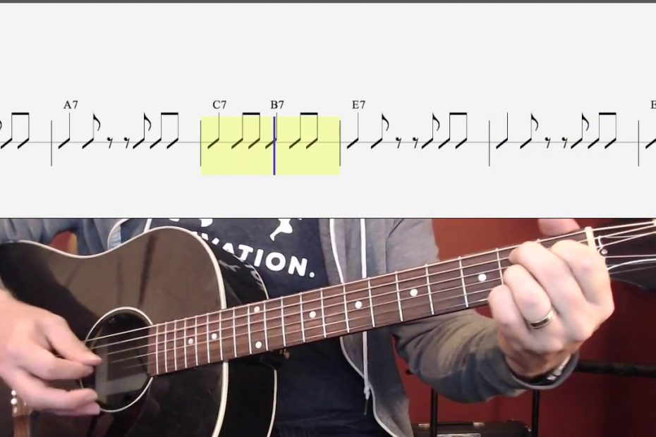 Suzie Q (Chords and Strumming) Watch and Learn Guitar Lesson for Beginners
