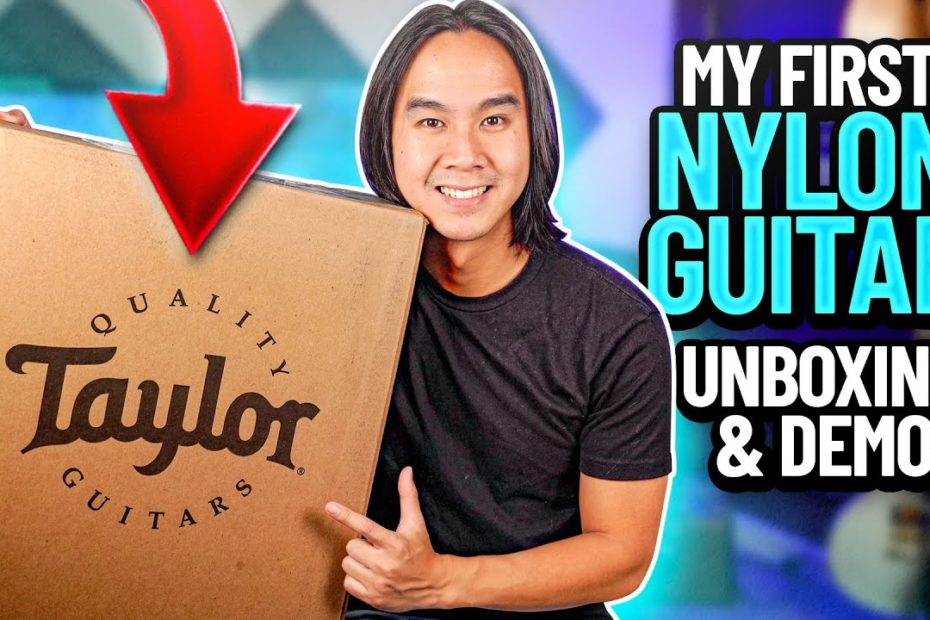 Taylor Academy 12e-N Nylon String Acoustic Guitar Review + Unboxing
