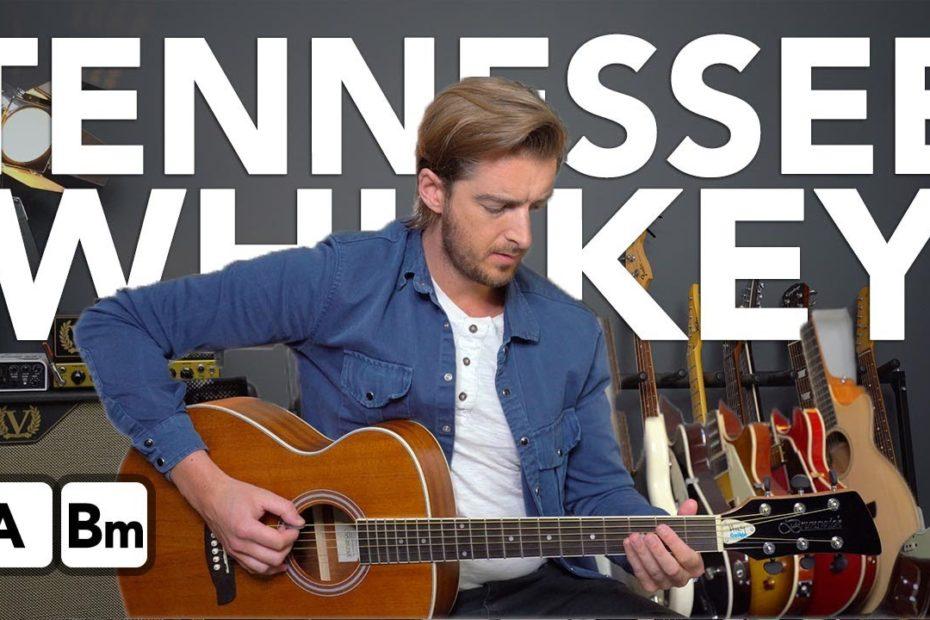 """""""Tennessee Whiskey"""" Easy 2 Chord Guitar Songs - Chris Stapleton"""