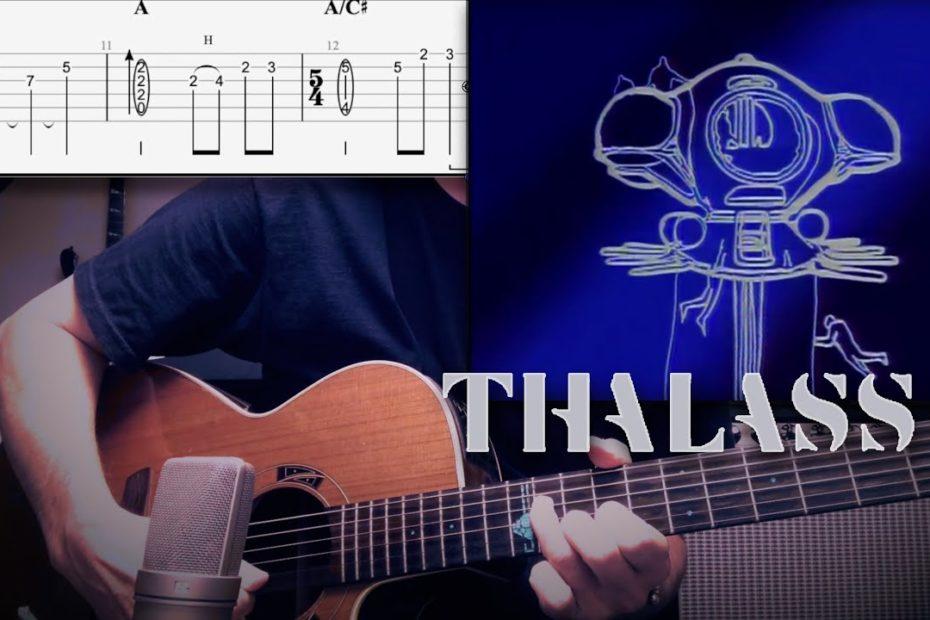 Thalassa Générique (Guitar Cover + TAB)