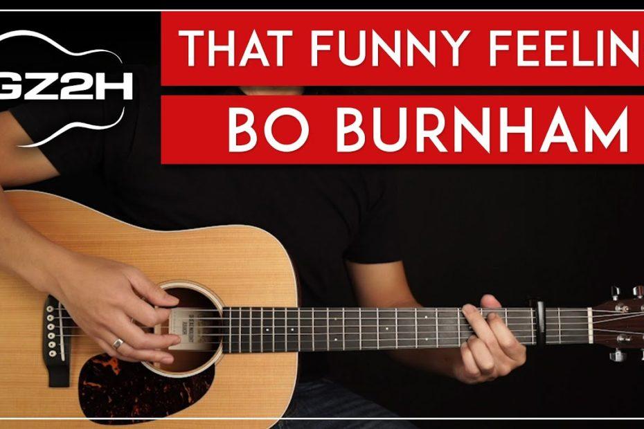 That Funny Feeling Guitar Tutorial Bo Burnham Guitar Lesson  Easy Chords 